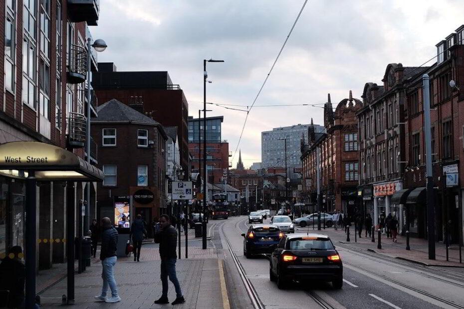 nachhaltige Stadtplanung in Sheffield