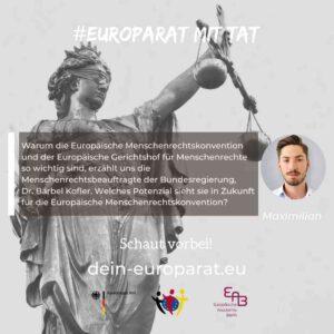 Europaquote EMRK Europarat