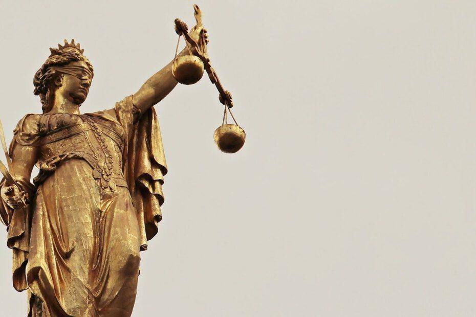 Lady Justice Europäische Menschenrechtskonvention Europarat
